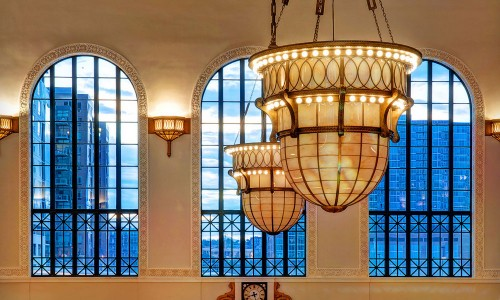 ANP Lighting LED Retrofit Kits Exterior Lighting Denver Union Station Fisher Lighting & Controls