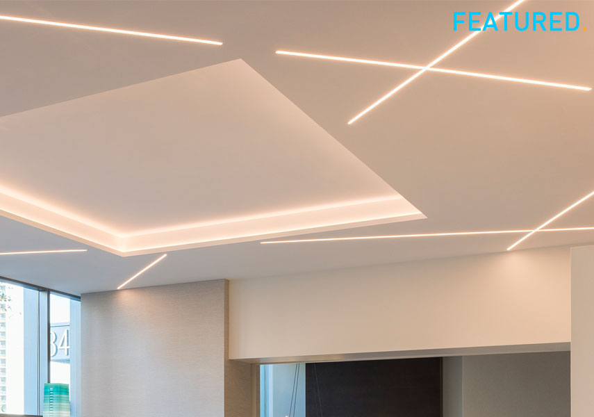 Pure Lighting Linear Plaster-In LED Systems (FLC Featured Product)