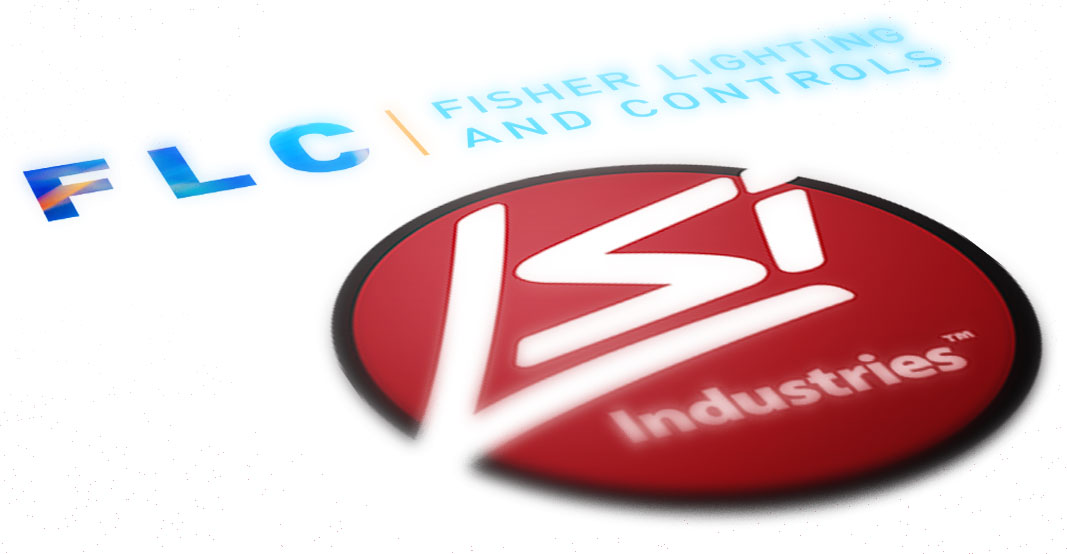 Fisher Lighting and Controls LSI Industries Cincinnati Ohio Denver Colorado Rep Representative Logos