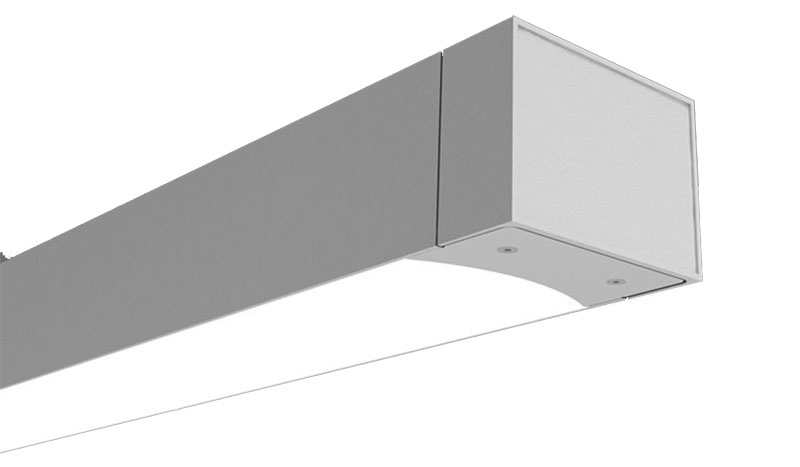 Fisher Lighting and Controls PAL Microlinea Series 5 Wet Location Direct LED Fixture Colorado Denver Rep Representative Product Shot Precision Architectural Lighting