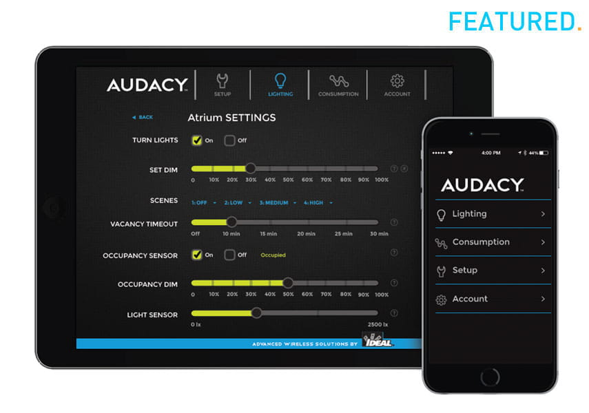 Audacy Wireless Lighting Controls (FLC Featured Product)